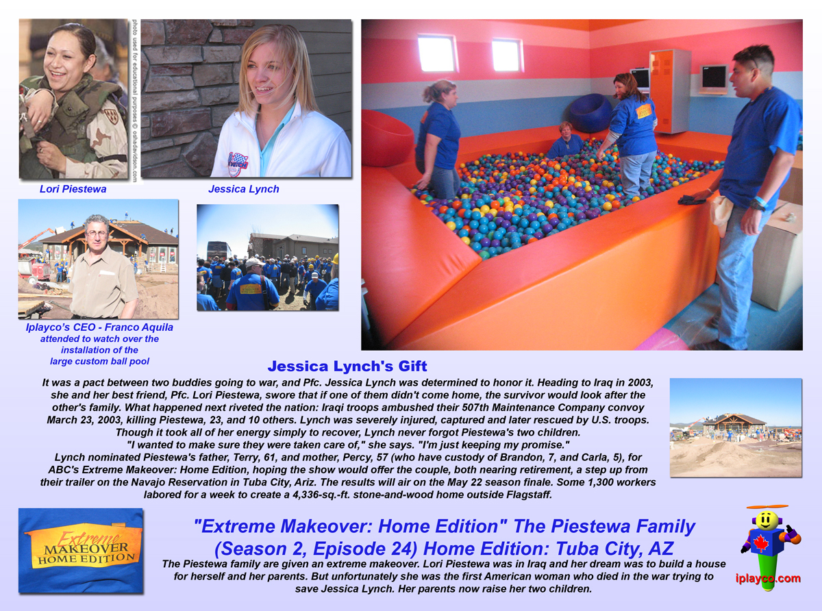 Extreme makeover: home edition: how'd they do that? 1x15 piestewa.