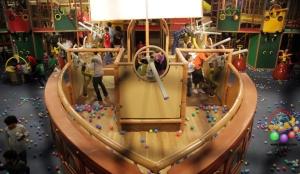 Themed Pirate Ship Ballistic Arena