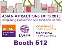 IAAPA trade show in China.