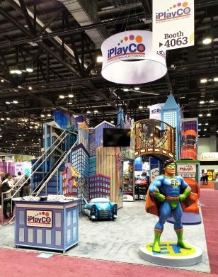 iPlayCO IAAPA booth 4063 Super Heros